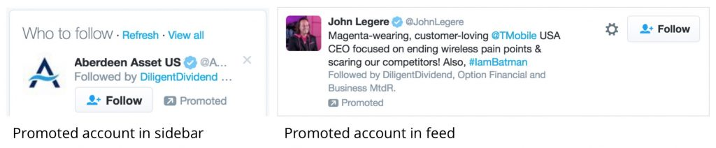 twitter promoted